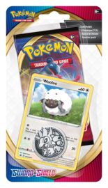 Pokemon - Sword & Shield - Checklane Blister -Wooloo