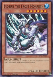 Mobius the Frost Monarch - 1st. Edition - SP15-EN004