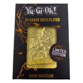 Dark Magician - Limited Edition Gold Embossed Metal Card