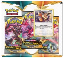 Pokemon - S&S - Darkness Ablaze - 3-Booster Blister Eevee