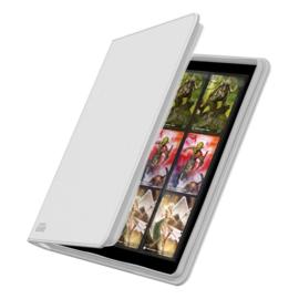 12-Pocket QuadRow ZipFolio XenoSkin White