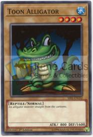 Toon Alligator - 1st Edition - SS01-ENC02