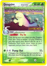 Quagsire - DraFro - 21/101 - Reverse