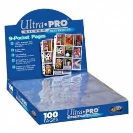 Ultra-Pro Box 9-Pocket Pages Silver Series