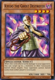 Kycoo the Ghost Destroyer - 1st Edition - BP02-EN011