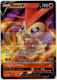 Victini V - Sword & Shield - 025/202