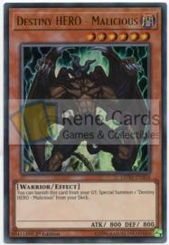 Destiny HERO - Malicious -  1st. Edition - LEHD-ENA04 (Ultra Rare)
