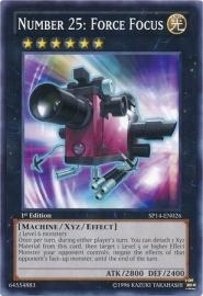 Number 25: Force Focus - 1st Edition - SP14-EN026