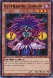 Reptilianne Gorgon - 1st Edition - BP03-EN067