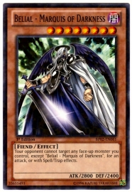 Belial - Marquis of Darkness - 1st Edition - BP02-EN061 - MF