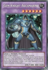 Gem-Knight Aquamarine - Unlimited - HA05-EN020