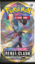 Pokemon - Sword & Shield - Rebel Clash - Booster Pack - Inteleon
