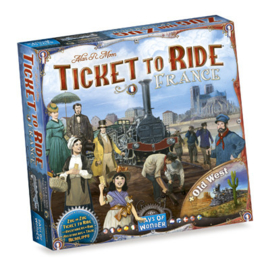 Ticket to Ride - France + The Old West