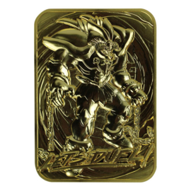Exodia The Forbidden One - Limited Edition Gold Embossed Metal Card
