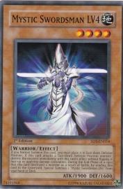 Mystic Swordsman LV4 - 1st Edition - SD5-EN014