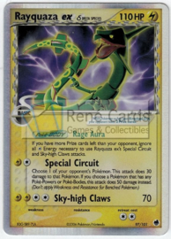 Rayquaza EX - Used - DraFro - 97/101