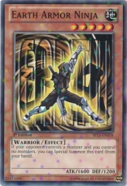 Earth Armor Ninja - Unlimited - SP13-EN018 - SF
