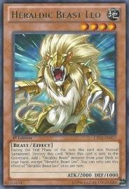 Heraldic Beast Leo - 1st Edition - CBLZ-EN017