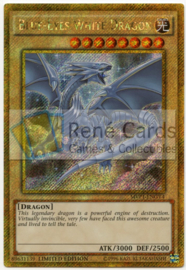 Blue-Eyes White Dragon - Limited Edition - MVP1-ENGV4
