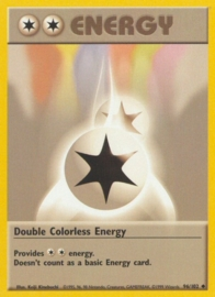 Double Colorless Energy - BaSet 96/102 - Unlimited