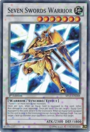 Seven Swords Warrior - Unlimited - SP13-EN048 - SF