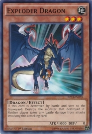 Exploder Dragon - 1st Edition - BP03-EN028