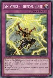 Six Strike - Thunder Blast - 1st Edition - SDWA-EN039