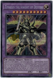 Timaeus the Knight of Destiny - 1st. Edition - DRL2-EN001