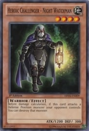 Heroic Challenger-Night Watchman - 1st Edition - ABYR-EN009
