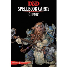 Dungeons & Dragons - Spellbook Cards - Cleric