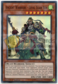 Ancient Warriors - Loyal Guan Yun - Unlimited - IGAS-EN012