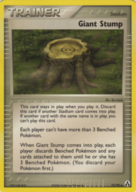 Giant Stump  - LegMa - 75/92