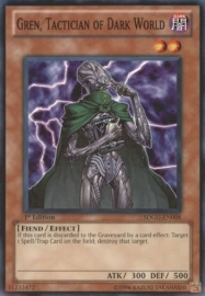 Gren, Tactician of Dark World - 1st Edition - SDGU-EN008