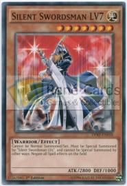 Silent Swordsman LV7 - 1st. Edition - DPRP-EN018