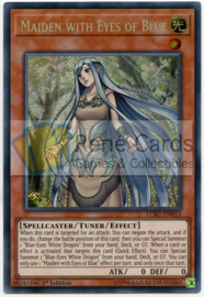 Maiden with Eyes of Blue - 1.st Edition - LCKC-EN012