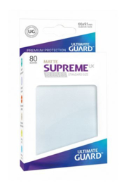 Supreme UX Sleeves - Standard Size Matte - Frosted