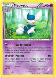 Meowstic - FlashF - 43/106 - Reverse