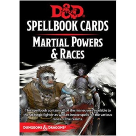 Dungeons & Dragons - Spellbook Cards - Martial Powers & Races