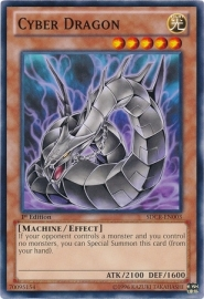 Cyber Dragon (Black) - Unlimited - SDCR-EN003