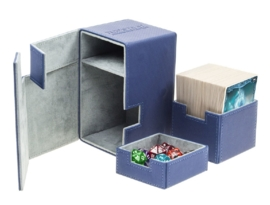Flip´n´Tray Deck Case 100+ - Standard Size - XenoSkin - Blue