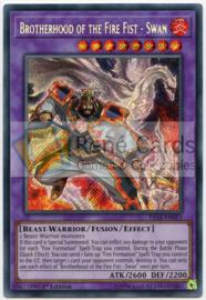 Brotherhood of the Fire Fist  - Swan - 1st. Edition - FIGA-EN015