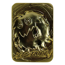 Kuriboh - Limited Edition Gold Embossed Metal Card
