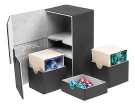 Twin Flip´n´Tray Deck Case 160+ Standard Size XenoSkin Black