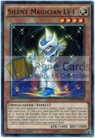 Silent Magician LV4 - 1st Edition - YGLD-ENC05