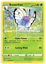 Butterfree - S&S Rebel Clash - 003/192