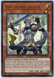 Protector with Eyes of Blue - 1.st Edition - LCKC-EN013