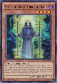 Secret Sect Druid Dru - 1st Edition - MP14-EN133