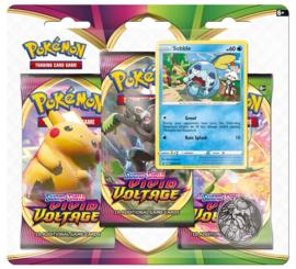 Pokemon - Vivid Voltage -3 Booster Blister - Sobble