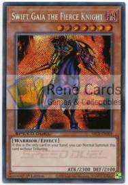 Swift Gaia the Fierce Knight - 1st. Edition - SBCB-EN005 - Secret Rare