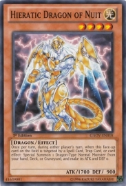 Hieratic Dragon of Nuit - 1st Edition